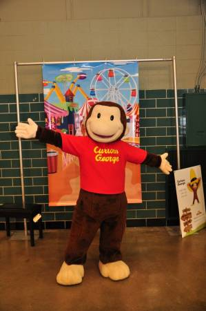 Curious George, everyone's favorite monkey.