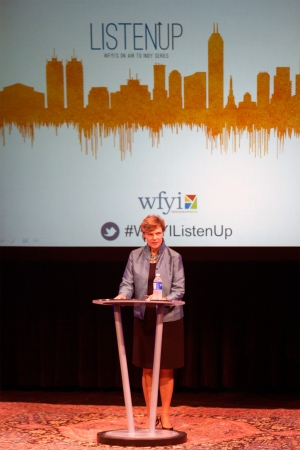 NPR's Cokie Roberts kicks off WFYI's Listen Up! Speaker Series on July 23, 2015