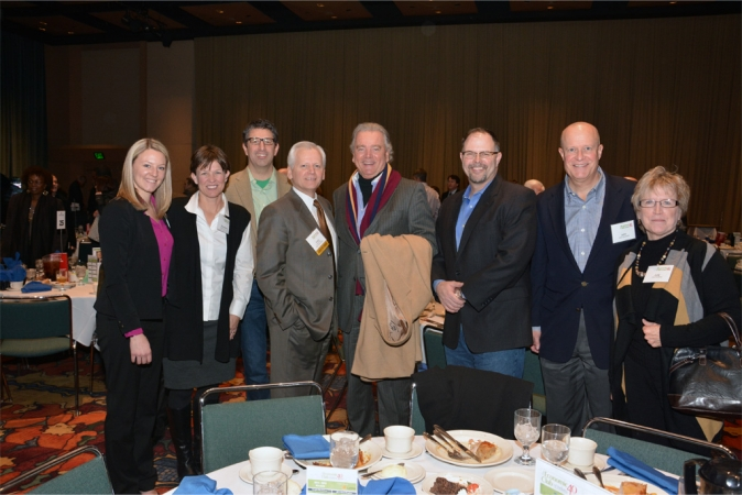 INner Circle donors join WFYI at The Economic Club of Indiana luncheon