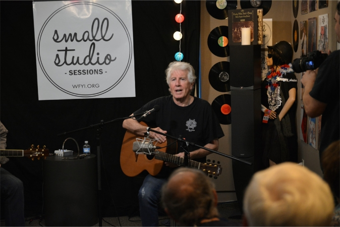 Graham Nash visits WFYI's Small Studio Session
