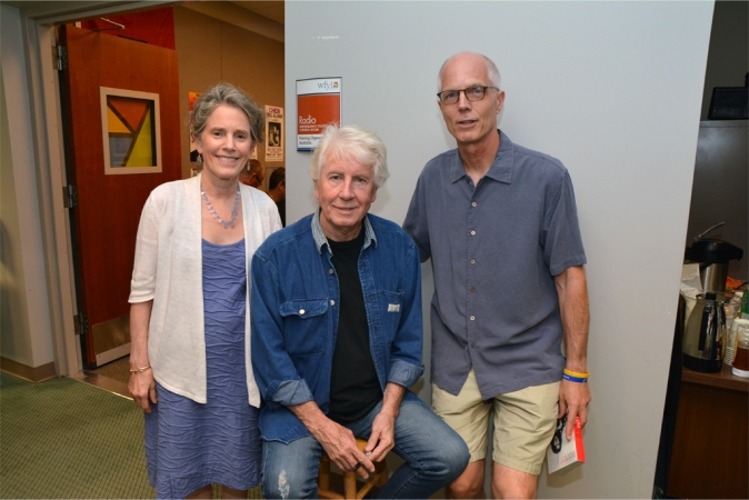 Graham Nash visits with INner Circle donors following his Small Studio Session recording