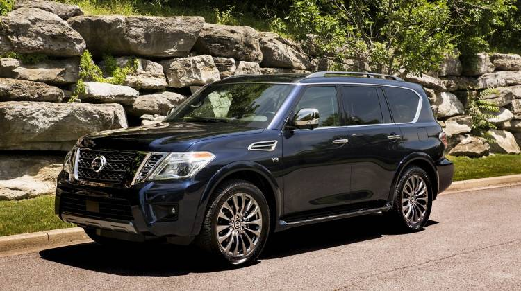 The 2020 Nissan Armada has a base price of $47,100, or $71,730 as tested. (Provided by Nissan)