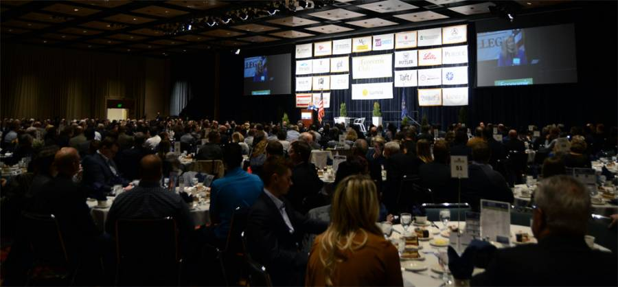 The Economic Club of Indiana luncheon at the Indiana Convention Center
