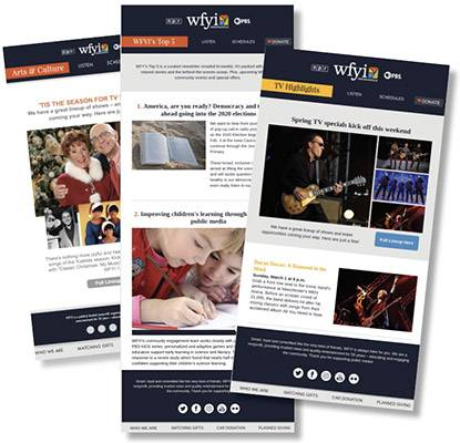 WFYI Email Templates