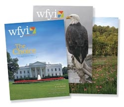 WFYI Members Magazine covers