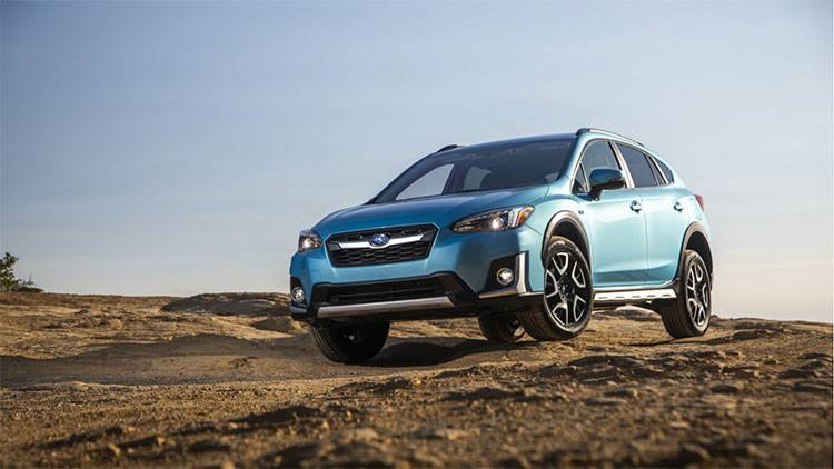Subaru Crosstrek plug in