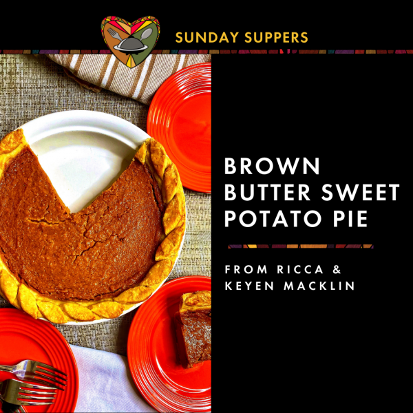 Photo of brown butter sweet potato pie