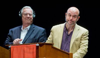 Wait Wait...Dont Tell Me, Peter Sagal and Bill Kurtis