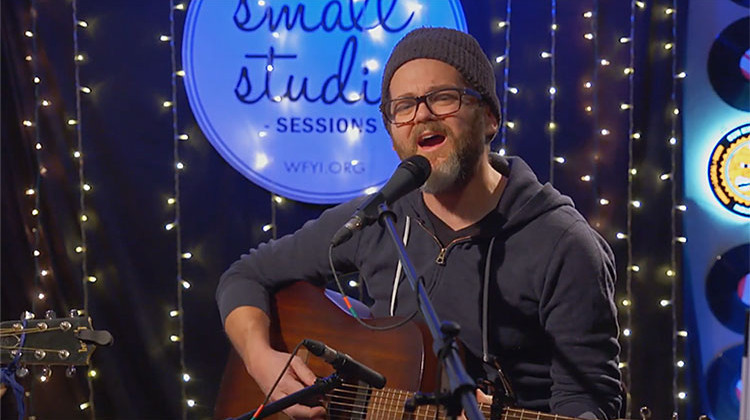 Josh Kaufman performs in the WFYI Small Studio. - WFYI Productions