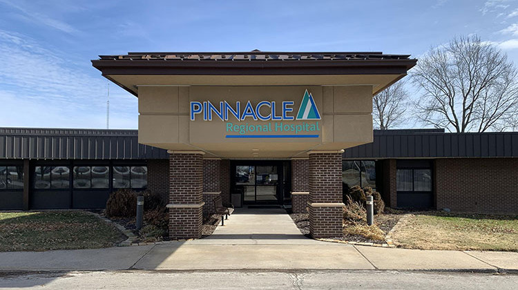 Pinnacle Regional Hospital in Boonville, Missouri closed unexpectedly in January, becoming the first rural hospital to close this decade. - Sebastian Martinez Valdivia/Side Effects Public Media