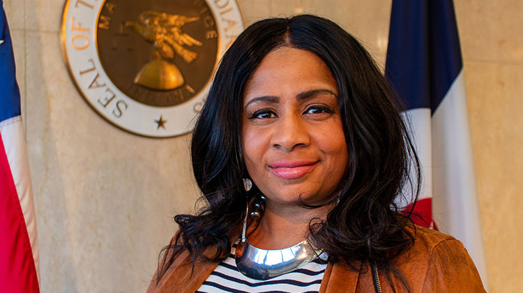 City of Indianapolis - Carlette Duffy, the Director of Re-entry for the City of Indianapolis and the Office of Public Health and Safety (OPHS)