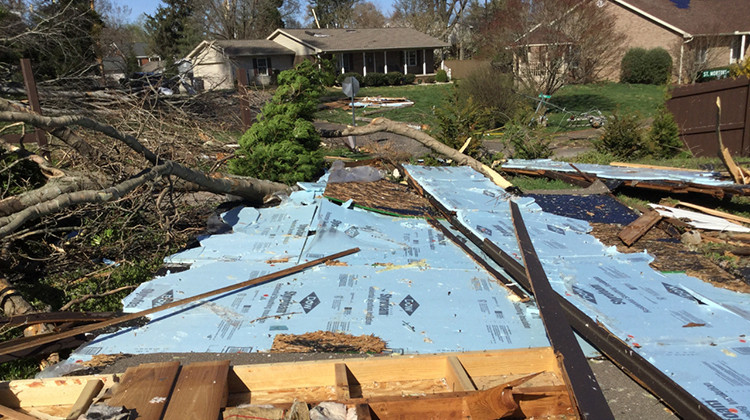 Indiana Tornado Cleanup Continues With Eye On Virus Safety