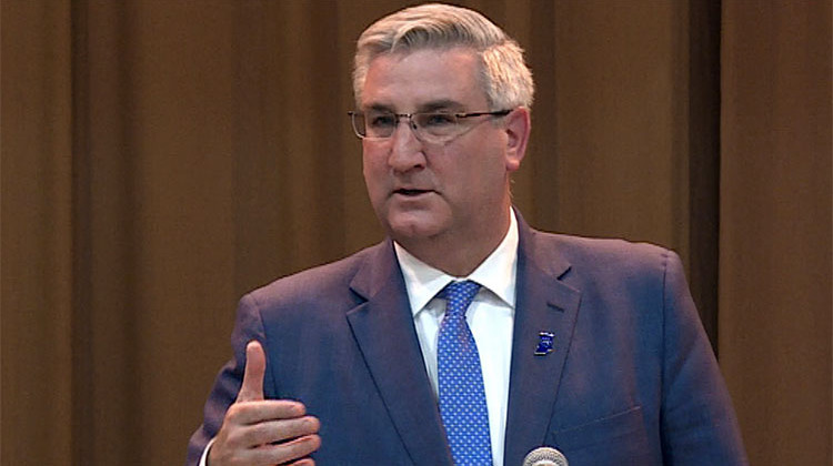 Holcomb Announces State Agency Cutbacks In Response To Revenue Shortfall
