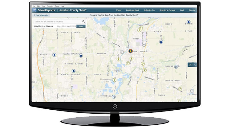 Hamilton County Crime Tracking with CrimeReports com