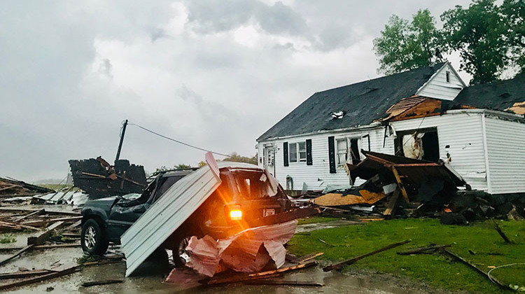 National Weather Service Confirms Tornado Damage In Madison