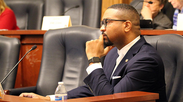 Sen. Eddie Melton (D-Gary) will explore a run for governor. - FILE PHOTO: Lauren CHapman/IPB News