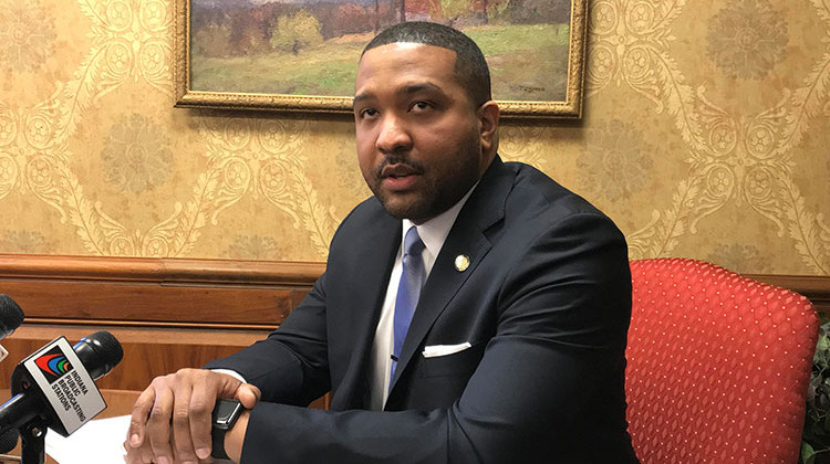 Sen. Eddie Melton (D-Gary) formed an exploratory committee for a gubernatorial bid. - FILE PHOTO: Brandon Smith/IPB News