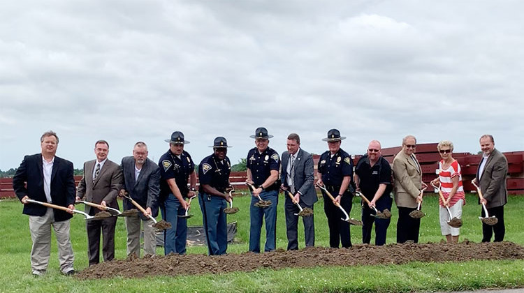 State Police Break Ground On New Facility In Greenwood
