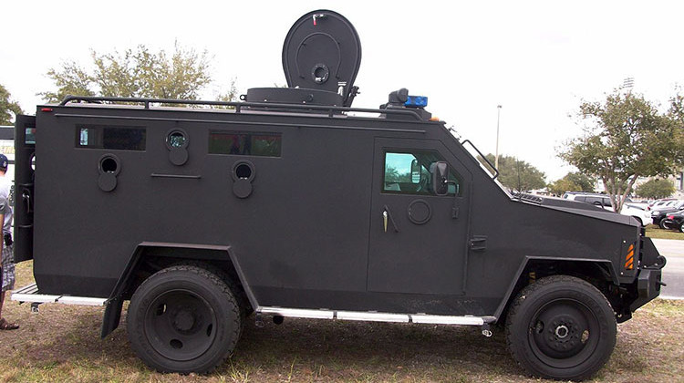 Bloomington Bars Police From Using New Armored Truck With Crowds