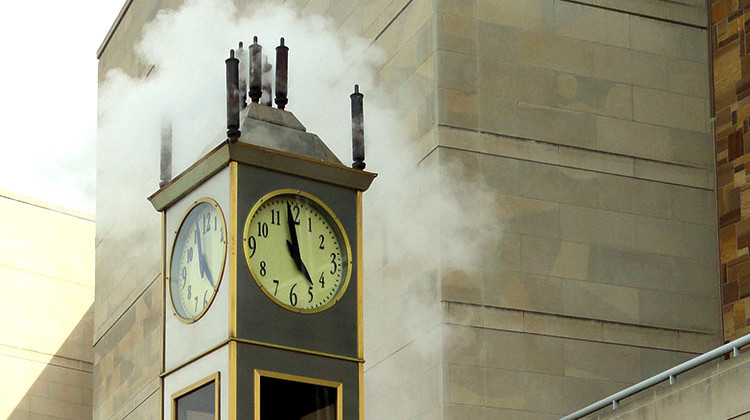 State Museum's Steam Clock Whistling Again After 7 Years