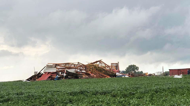 Weather Service Confirms 4 Tornadoes Hit Indiana Friday