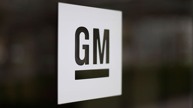 FILE - This Friday, May 16, 2014, file photo, shows the General Motors logo at the company's world headquarters in Detroit. - AP Photo/Paul Sancya, File