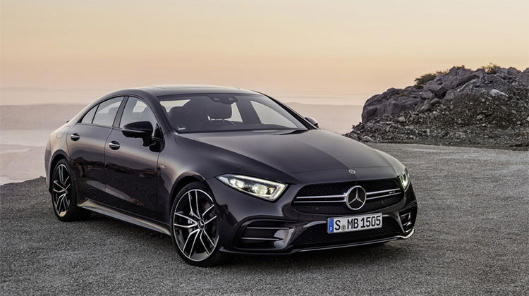 2019 Mercedes-AMG CLS53 Reflects Past, Accelerates Into Future
