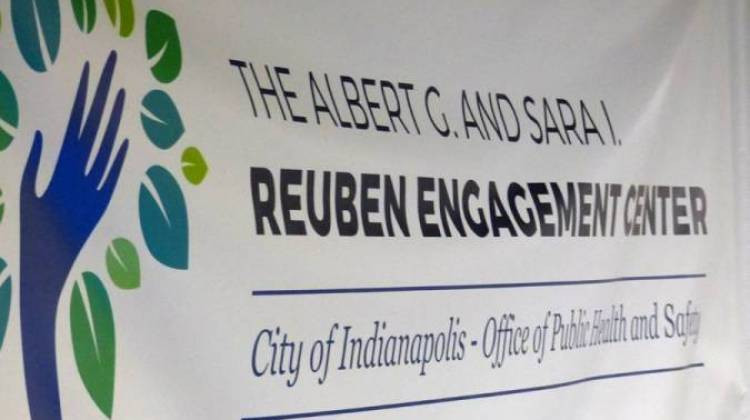 Some groups already refer people to the Reuben Engagement Center, but city officials say police are in a special position to help. - Leigh DeNoon/WFYI