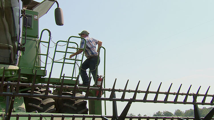 A Day In The Fields With A Hoosier Farmer During Harvest