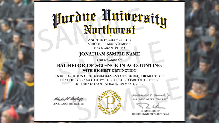 diploma wording change upsets some purdue northwest students