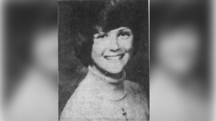 Ann Harmeier was a 20-year-old IU sophomore in September 1977. - Indiana State Police