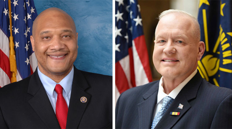 Meet The 7th Congressional District Candidates: André Carson And Wayne 'Gunny' Harmon
