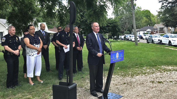 Indy Officials Update Efforts On Targeted Crime Prevention