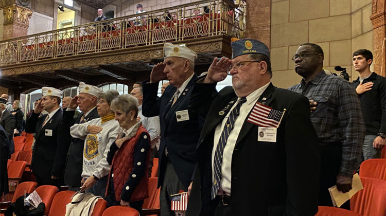 Veterans, Family Attend Annual Veterans Day Service