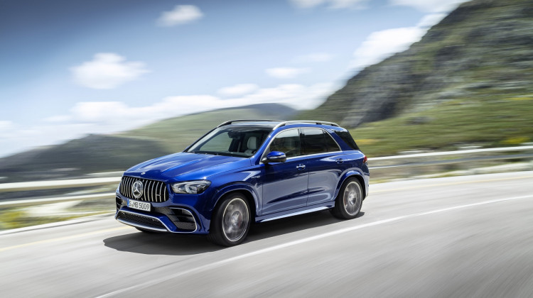 2021 Mercedes-AMG GLE63 S Is A Four-Door Typhoon