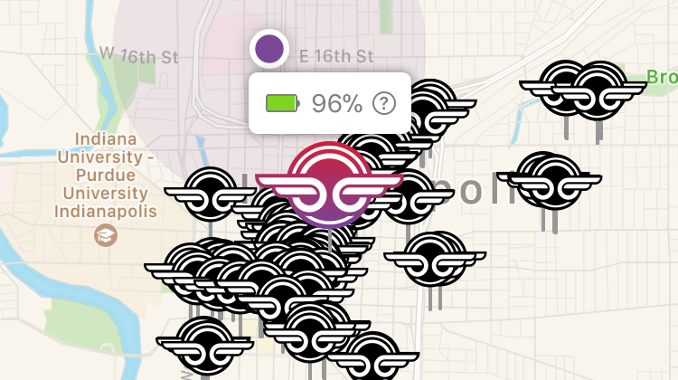 Scooter Rental San Francisco >> Electric Scooter Share Startup Here in Indy