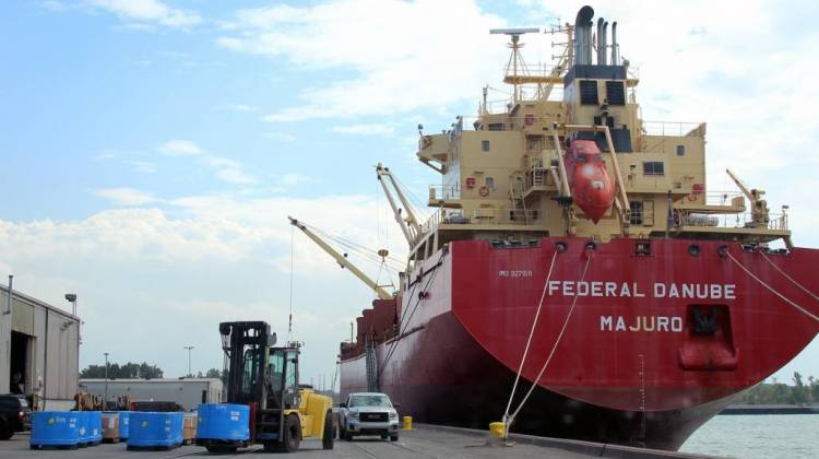 Port Of Indiana-Burns Harbor Gets $10M For Infrastructure Upgrades