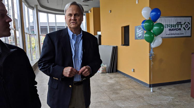 Republican Senator Jim Merritt Enters Race For Indianapolis Mayor