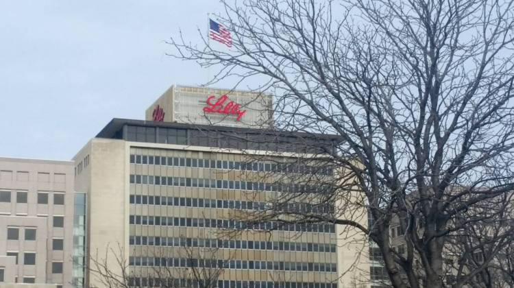Eli Lilly Corporate Headquarters in Indianapolis  - Lauren Chapman/IPB News
