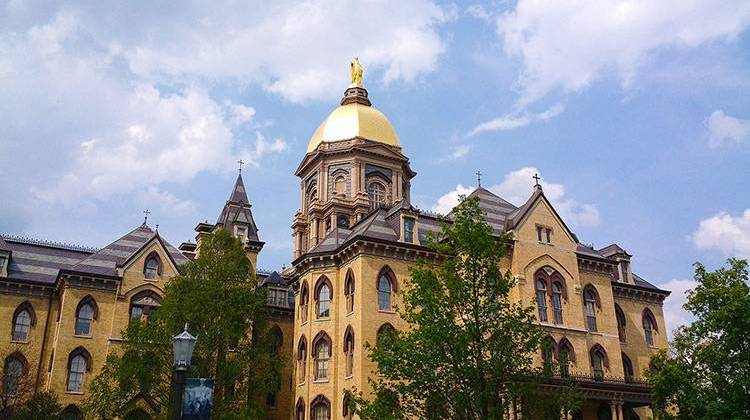 University Of Notre Dame Still Plans To Host First Presidential Debate Despite Pandemic