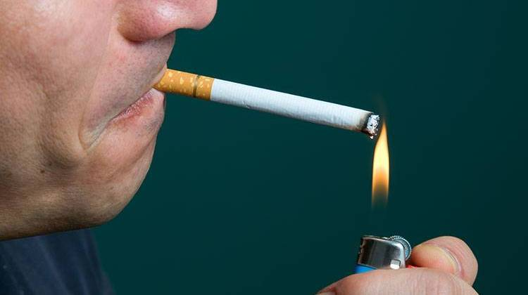 A proposed bill would raise Indiana's cigarette tax by $1.50 per pack, among other measures. - stock photo