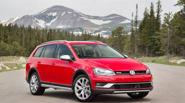 Vw Drives Its Alltrack Through The Outback