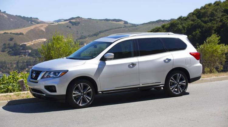 Nissan Pathfinder Toned For 2017