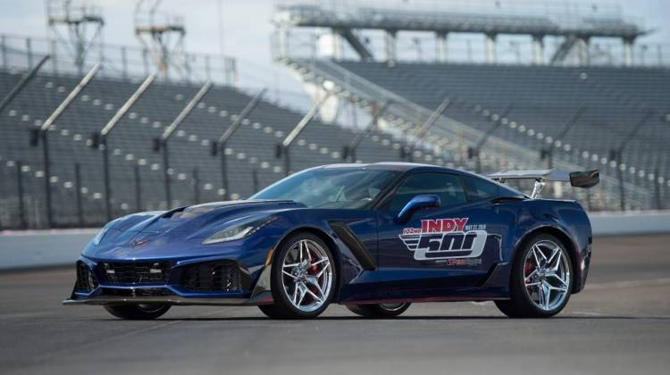 Corvette ZR1 to Serve as Indy 500 Pace Car