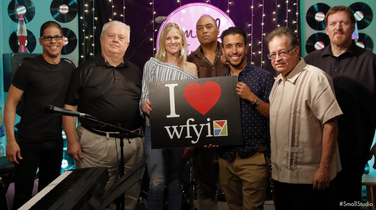 Pavel & Direct Contact at WFYI's Small Studio - Jeff Hinton/WFYI