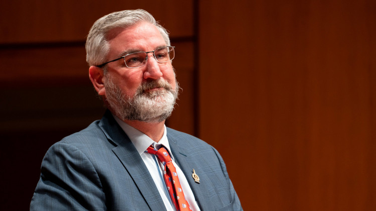 Holcomb's Proposed Budget Spends One-Time Money To Pay Down Debt, Not Direct Relief