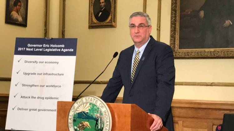 Holcomb: No Decision Yet on Ricker's Bill