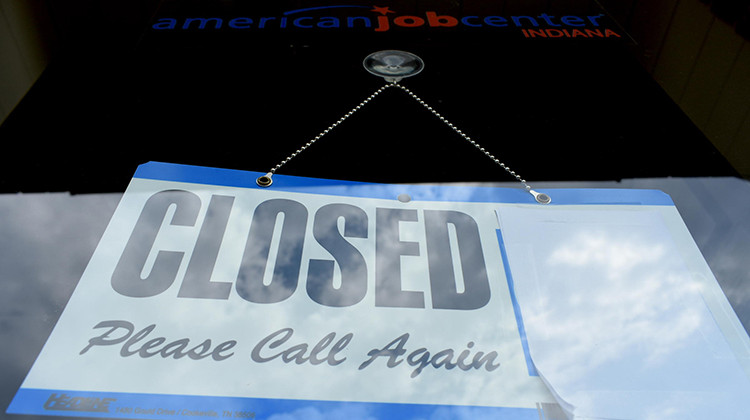 Indiana Jobless Rate Hits 16.9% With Coronavirus Closures