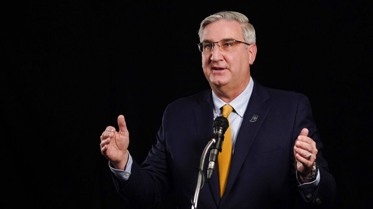 Indiana Governor Won't Back Mandatory COVID-19 Vaccine