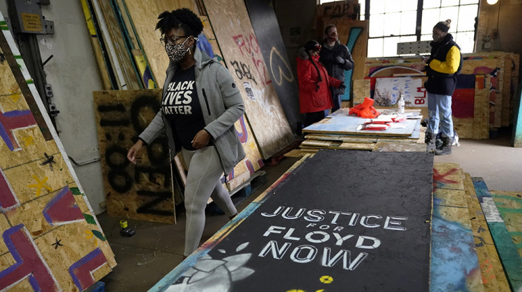 Artists, Activists Rush To Save Black Lives Matter Murals
